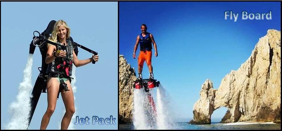 Flaybord y Jet Pack Los Cabos